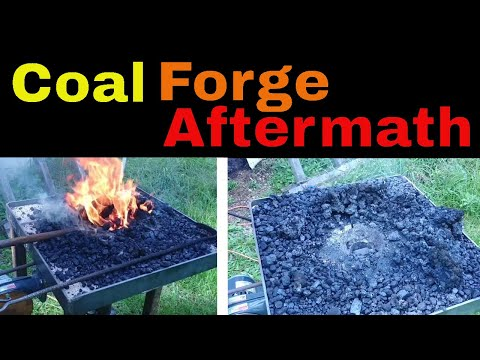 The AFTERMATH for the DIY Coal Forge