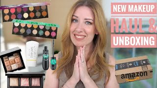 NEW MAKEUP HAUL... DUPES, DRUGSTORE MAKEUP, & AMAZON CLOTHING