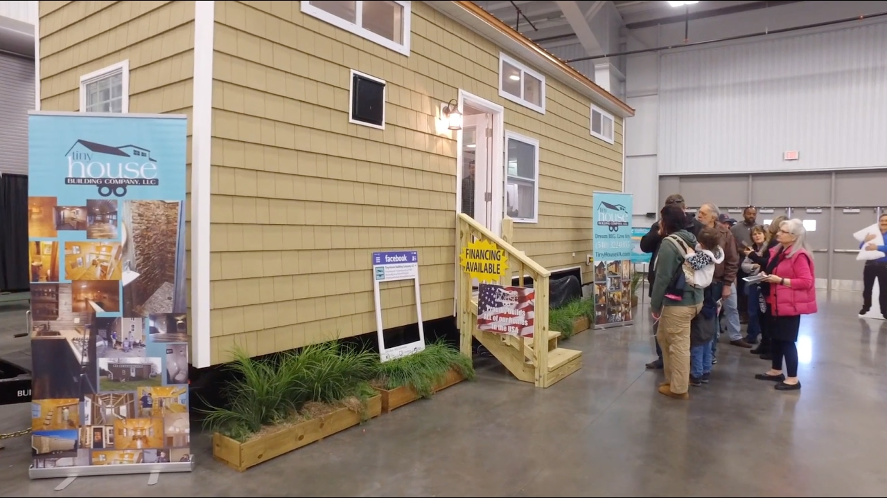 Tiny House Building Company 2017 Va Home Show Youtube