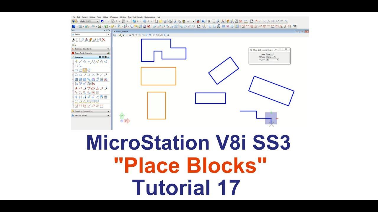Microstation V8i.17 - SÜPERSTAR