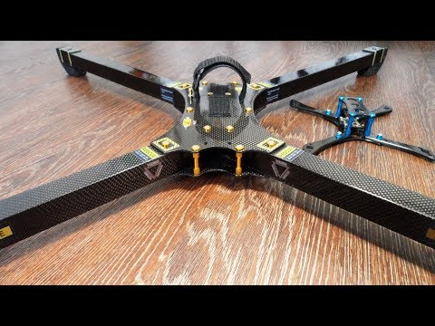 Building  X Class Racing Drone frame