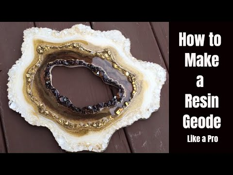 How to Make a Resin Geode