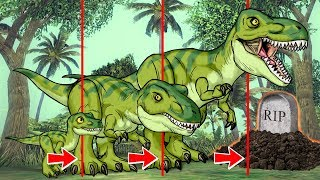 Roblox | JURASSIC PARK: Life Cycle of a Dinosaur! (Roblox Adventures)