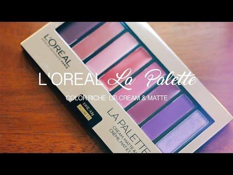 Color Riche La Palette Lip - Plum by L'Oreal #3