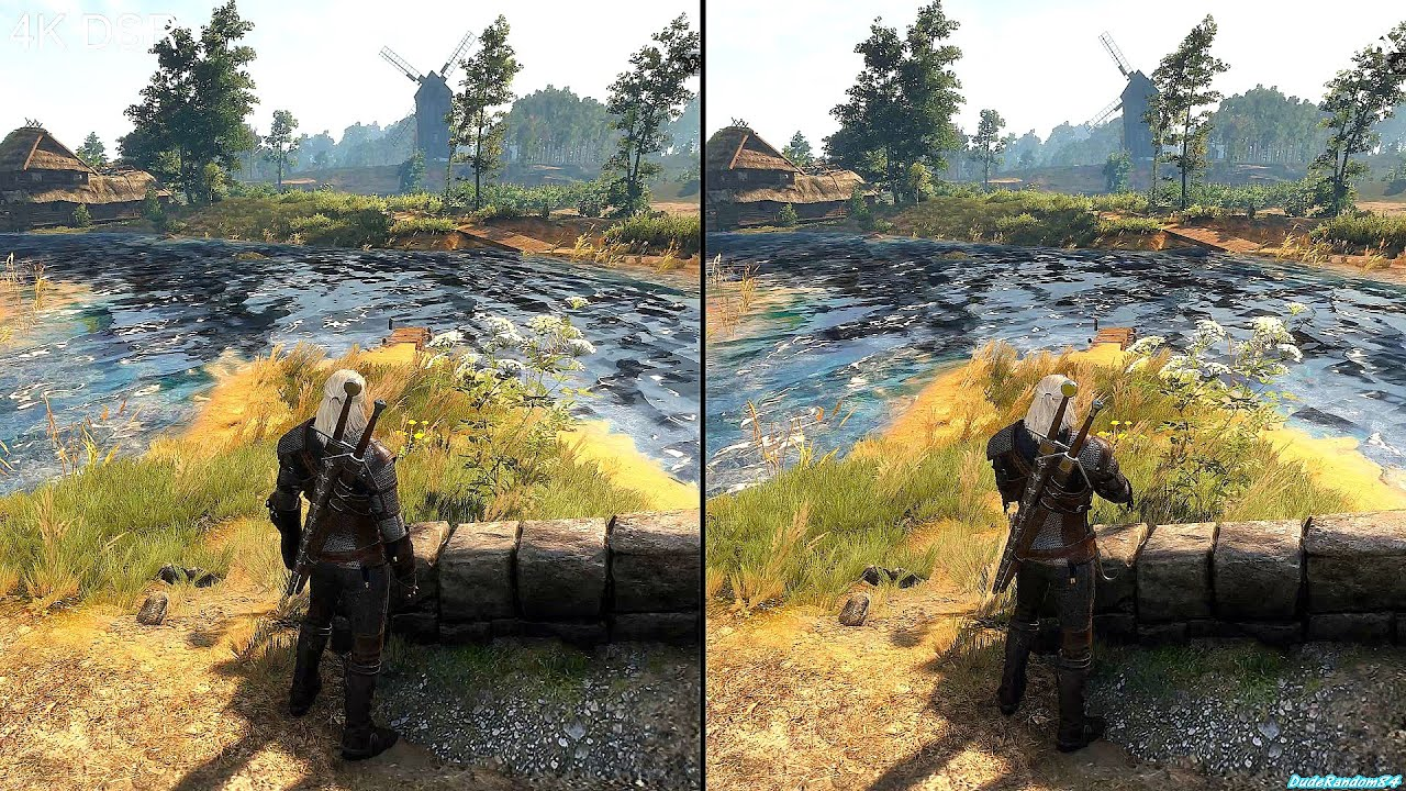 4K DSR Vs 4K Native Graphics Comparison