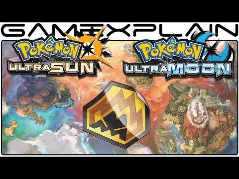 Pokémon Ultra Sun & Ultra Moon - All Totem Sticker Locations (Guide & Walkthrough)
