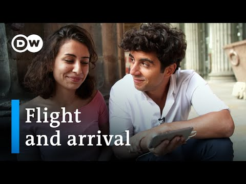 Jaafar Abdul Karim meets syrian refugees - flight and arrival | DW Documentary