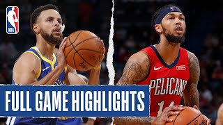 WARRIORS at PELICANS | FULL GAME HIGHLIGHTS | October 28, 2019
