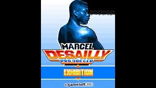 """Marcel Desailly Pro Soccer"" - Gameloft 2002 year!!! (Java Game)"