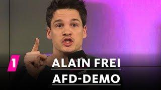 Alain Frei: AfD-Demo