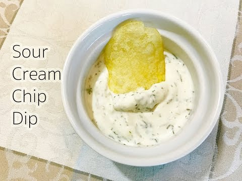 Sour Cream Chip Dip Recipe