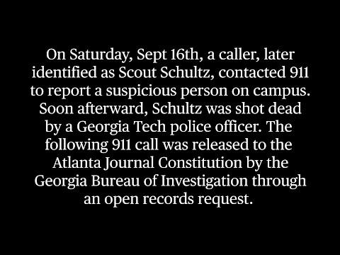 Scout Schultz 911 Call