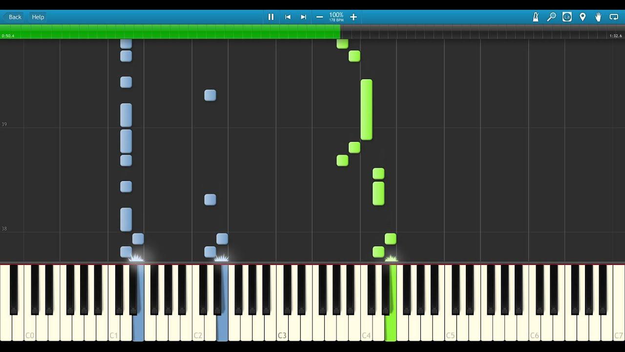 Nanobii: rainbow road piano tutorial youtube.
