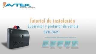 Tutorial de instalación SVU-3621 - 120VAC (Modo: Protector)