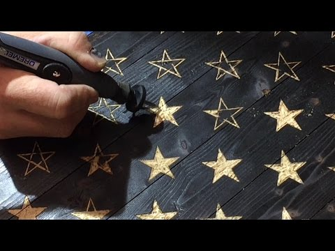 A Must Have Dremel Accessory / Rustic American Flag