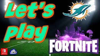 Fortnite with new NFL skins!