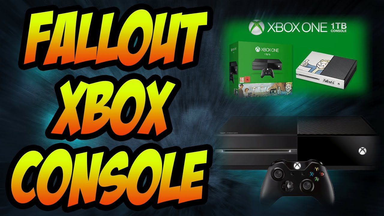 fallout 4 xbox one console 1tb hdd fallout 3 download. Black Bedroom Furniture Sets. Home Design Ideas