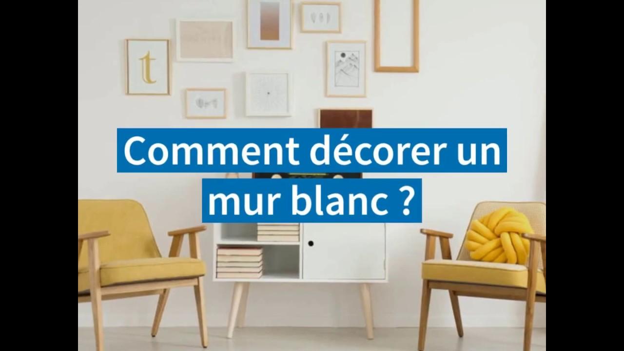 Comment Habiller Un Grand Mur De Salon comment décorer un mur blanc ? – le blog immobilier
