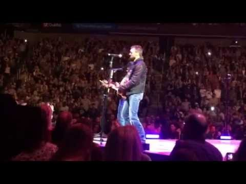 Eric Church and George Strait in Kansas City 1/18/2014