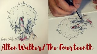 Drawing Allen Walker (Nea, Fourteenth) / D.Gray man