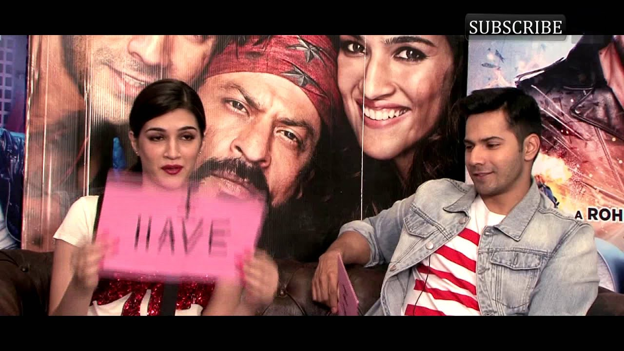 Varun Dhawan and Kriti Sanon get candid in a fun game of Never Have I Ever with BollywoodLife