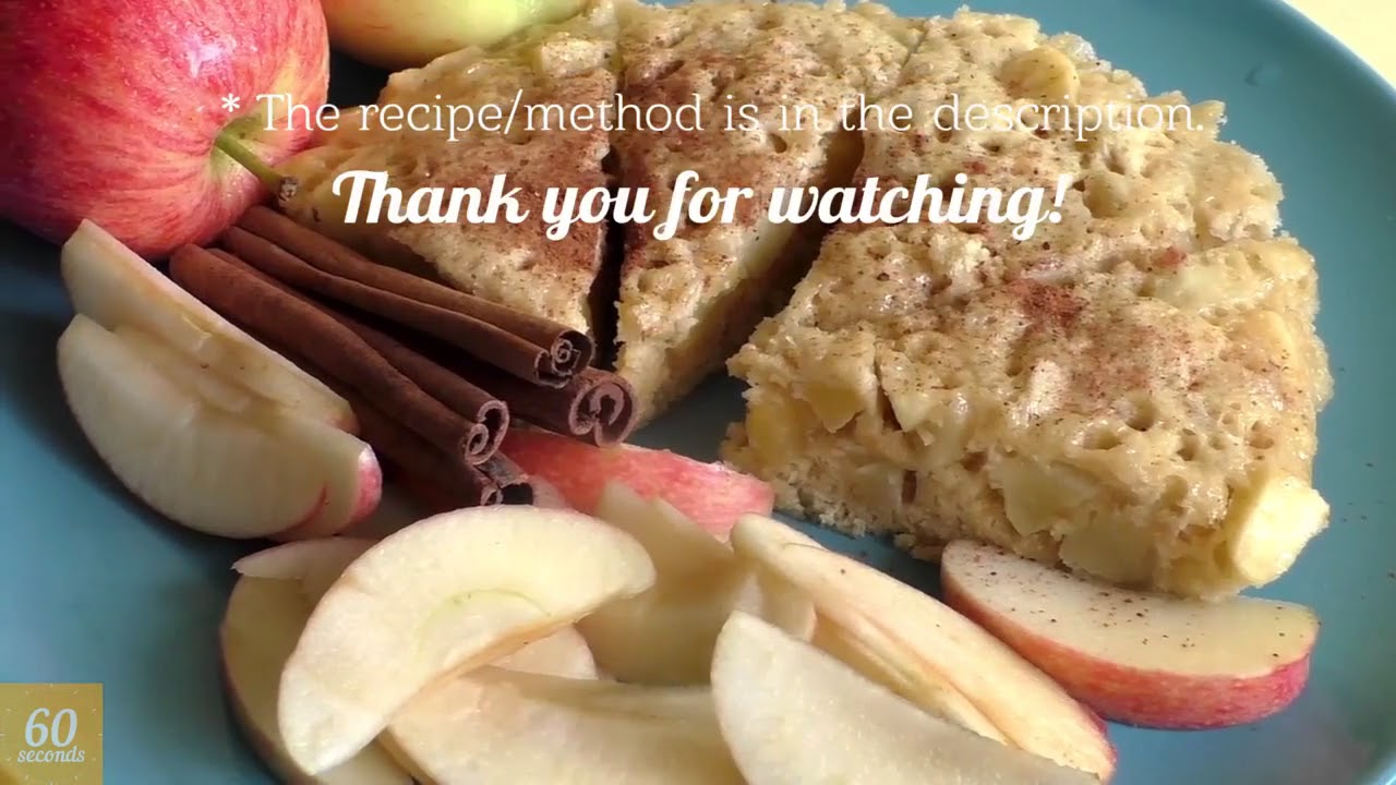 Apple Pie in the Microwave. The EASIEST Way! How to make an Apple Pie in 5 minutes? | In 6 - YouTube