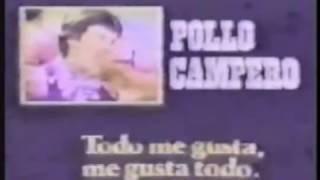 Bloque de anuncios viejos de Pollo Campero.
