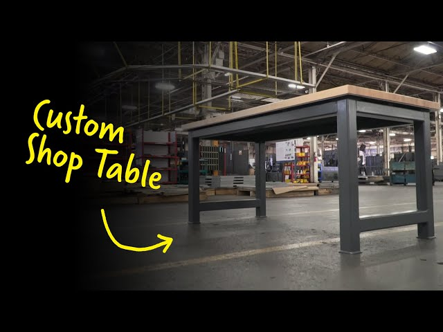 Custom Shop Table | Strong Hold