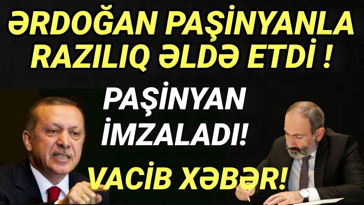 IƏRDOĞAN  PAŞİNYANI RAZI SALDI!