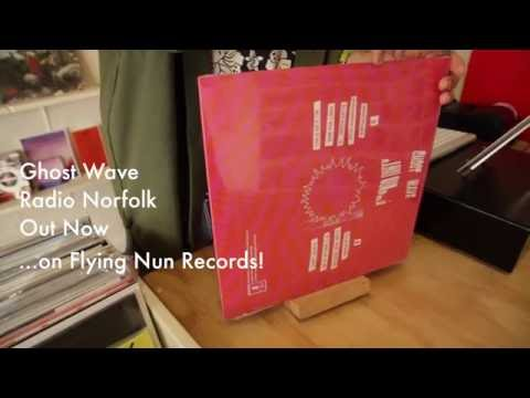 Ghost Wave - Radio Norfolk - Vinyl Unboxing Video