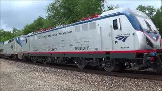 Brand New ACS-64 Electric Engine on the California Zephyr
