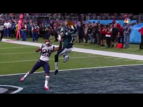 6ba38e4a2 Alshon Jeffery 'Mosses' Eric Rowe on 34 yard TD catch! Eagles Vs Patriots| Super  Bowl 52