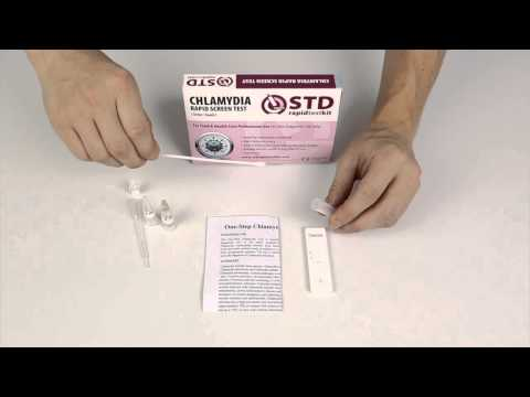 Chlamydia Rapid Home Test Kit - How to use tutorial