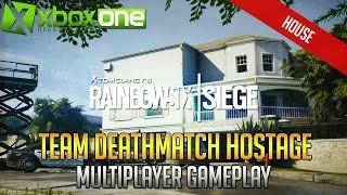 Tom Clancy's Rainbow Six Siege TDM Hostage HOUSE Xbox One Multiplayer Gameplay HD 1080p 60fps