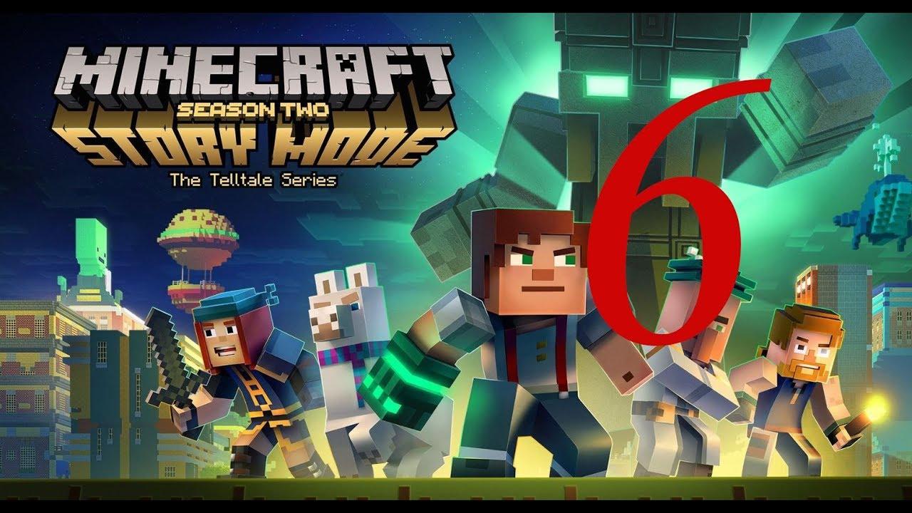 Майнкрафт Стори Мод Полное прохождение - Minecraft Story mode full walkthrough