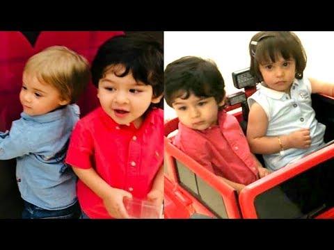 Taimur Ali Khan Play Date With Karan Johar Kids Yash Johar And Roohi Johar Mp3
