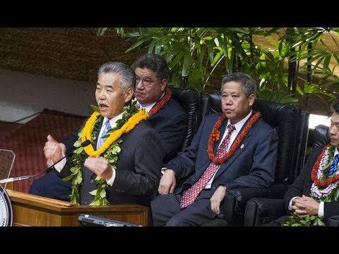 Gov. Ige delivers 2018 State of the State address