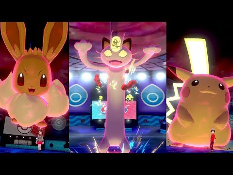 G I G A N T A M A X  P O K É M O N are coming to Pokémon Sword and Pokémon Shield!