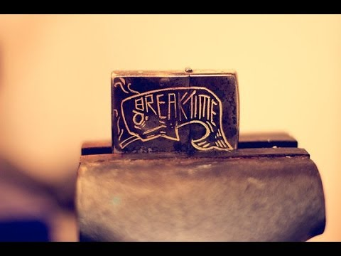 Breaktime Custom Engraved Zippo Lighter