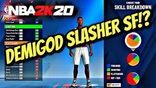 BEST NBA2K20 BUILD! - RATE MY BUILD Demigod Slasher SF - NBA 2K20 MyCareerMyPark PS4