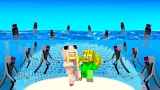 100 ENDERMAN vs. UNTERWASSER BASE! ✿ Minecraft [Deutsch/HD]