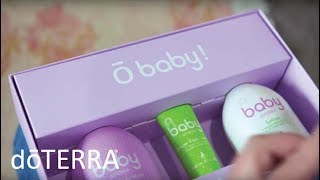 Safe and Natural Way to Care for Your Baby- All NEW doTERRA Baby Collection