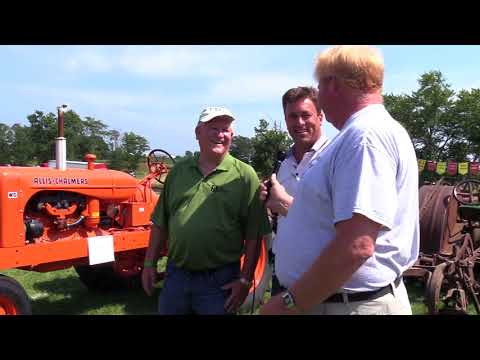 First Farmers Bank & Trust at Historic Farm Days with an Allis-Chalmers