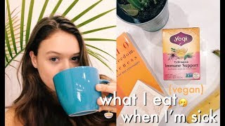 What I Eat In A Day / sick & lazy / VEGAN