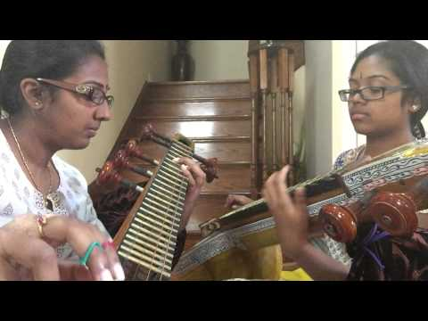 Irul Konda Vaanil/ Siva Sivaya Potri (Baahubali Songs)- Veena Cover