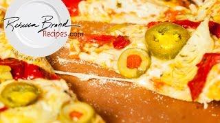 Easy Veggie Pizza Fast Rise Dough Recipe