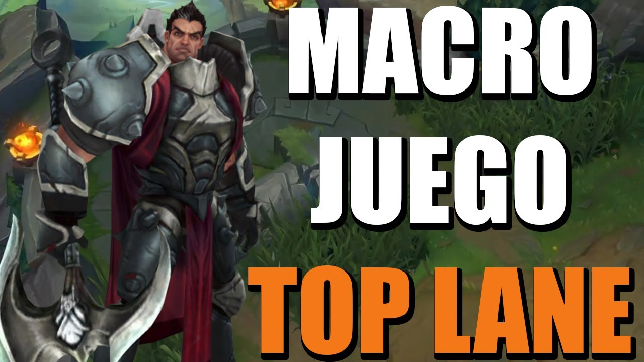 DOMINA El MACROJUEGO De Los TOP League Of Legends