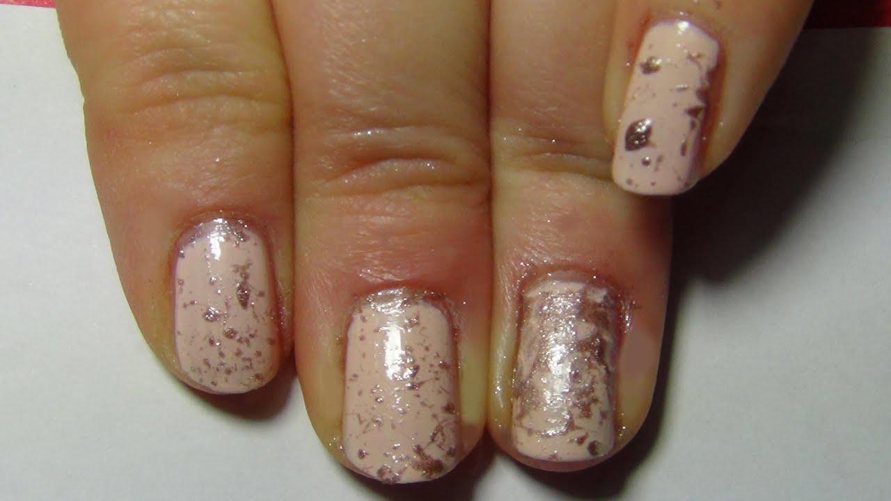 Nail art n 33 discreet for school nail art discret pour l 39 cole youtube - Nail art discret ...