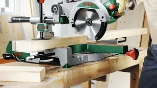 Scie radiale Bosch PCM 7S - comment l'utiliser