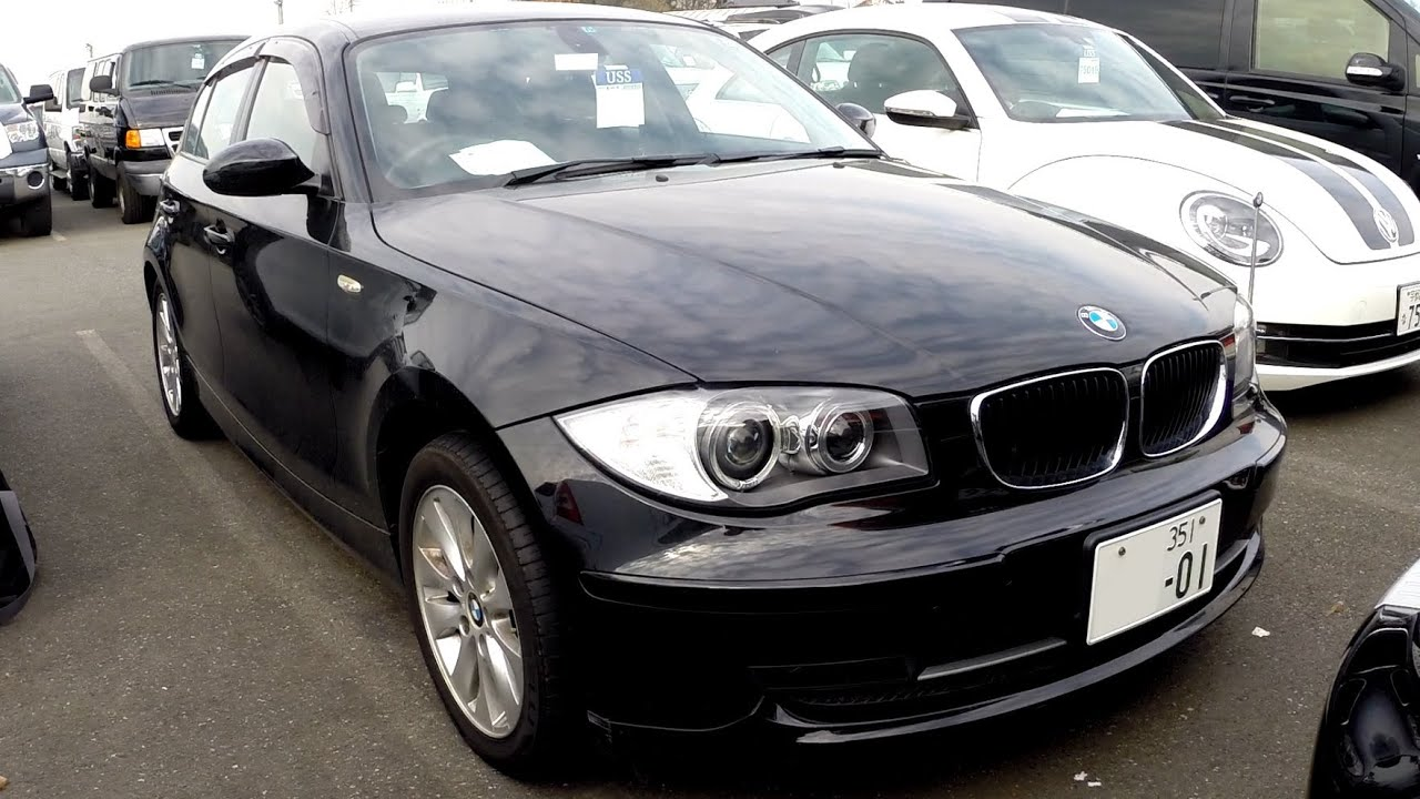 2008 bmw 1 series 116i 34k rhd japanese auto auctions. Black Bedroom Furniture Sets. Home Design Ideas